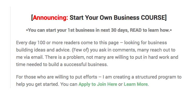 Start-Your-Own-Business-Course-Form-Screenshot